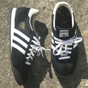 "adidas Shoes - Adidas ""Dragons"" Retro Black / White Size 11.5"
